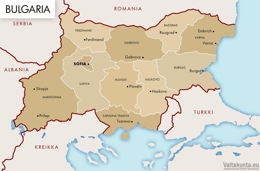 Bulgarian Pääkaupunki
