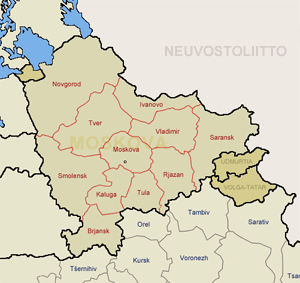 Moskovan Asukasluku